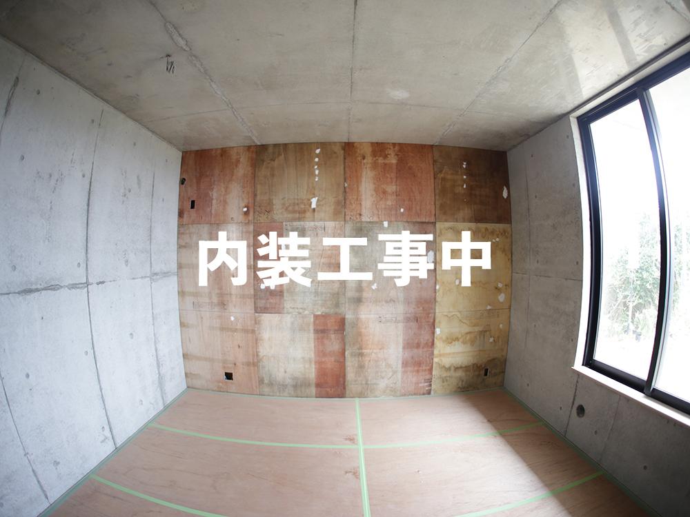 工事中の個室
