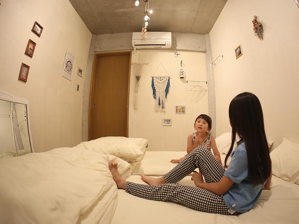 ゲストハウスに宿泊